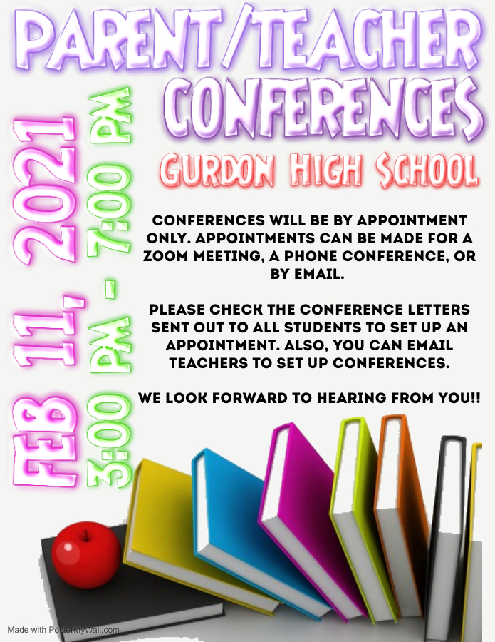 GHS Parent/Teacher Conferences